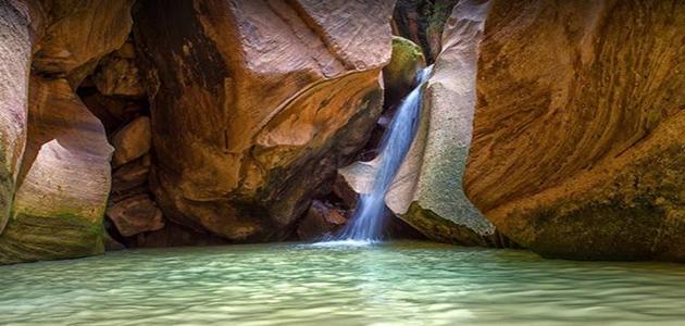 سياحة في السعودية وادي لجب موقع جدايل