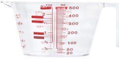 قياس كم يساوي الكوب بالمل ml و الجرام Grams
