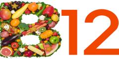 المصادر الغذائية لفيتامين بي 12 B وأهميته للجسم