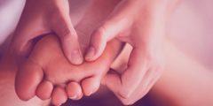 علاج المسامير على أصابع القدم