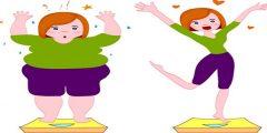 ممارسة التمارين الرياضية لانقاص الوزن