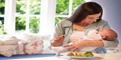 أطعمة لتخفيف وانقاص الوزن بعد الولادة
